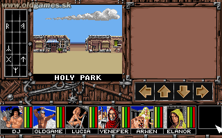 Spirit of Adventure - PC DOS, Mooncity