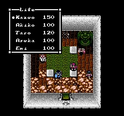 NES [en], Characters life