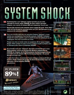 PC DOS (UK Release) - Back