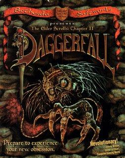 Elder Scrolls: Daggerfall - Box scan (US) - Front