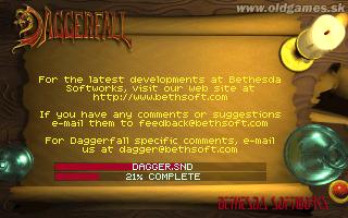 Install Daggerfall from CD