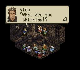 Cítím zradu, v Tactic Ogre nic neobvyklého
