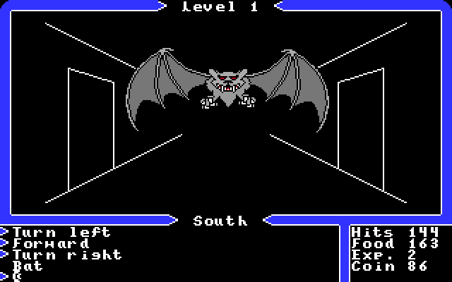 Apple IIgs, Dungeon - Bat