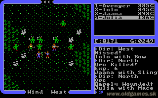 Ultima IV: Quest of the Avatar - PC DOS