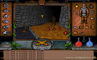 Ultima Underworld: The Stygian Abyss - PC DOS, Earth golem