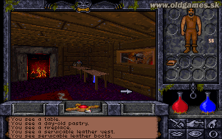 Ultima Underworld 2: Labyrinth of Worlds - PC DOS, Start game...