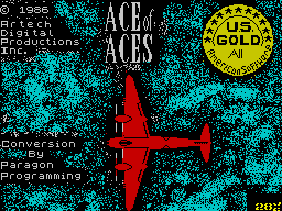 Play online - Ace of Aces (ZX Spectrum)
