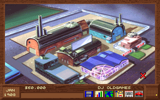 Detroit - PC DOS, Main menu