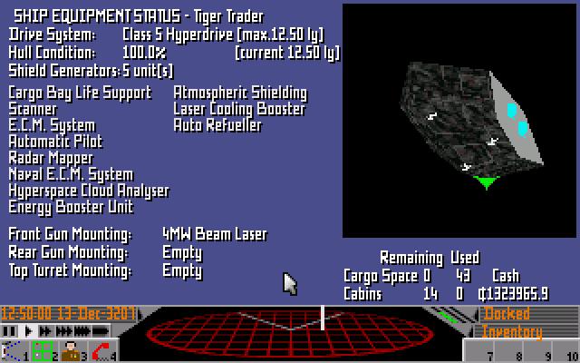 Statistiky mojí lodi po delší době hraní
