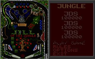 (PC) Jungle Pinball - Options