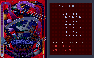 (PC) Space Journey - Options