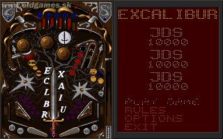 Excalibur - Options