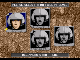Genesis, Select difficulty