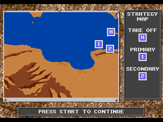 Genesis, Mission strategy map