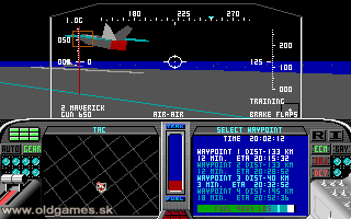 F-19 Stealth Fighter - PC DOS