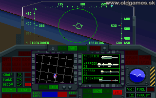 Night Hawk: F-117A Stealth Fighter 2.0 - PC DOS