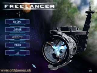 Freelancer - Main menu, Demo
