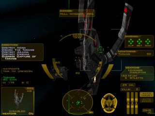 Descent: FreeSpace - The Great War - PC Windows, Action
