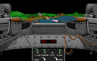Gunboat - PC DOS, Shooting...