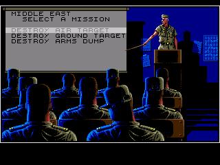 Genesis, Select mission