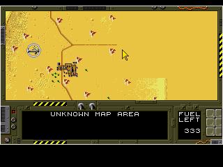 Genesis, Map - mission planning