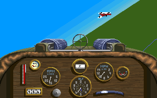 Knights of the Sky - PC DOS, Richthofen dogfight