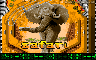 Pinball Dreams 2 - Safari table