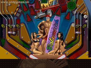 Pinball Illusions - PC DOS, Babewatch
