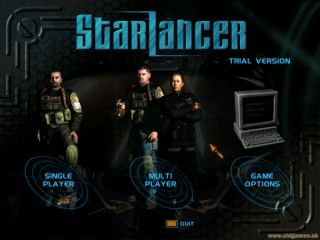 Starlancer - PC, Main menu - trial