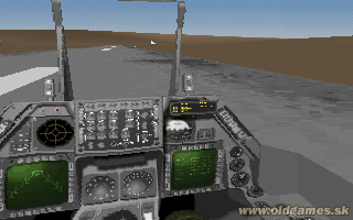 Strike Commander - F-16, virtual cockpit