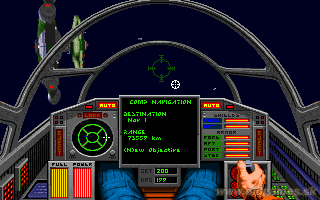 Wing Commander II: Vengeance of the Kilrathi - Mission