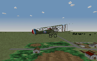 Wings of Glory - Sopwith Pup - external view
