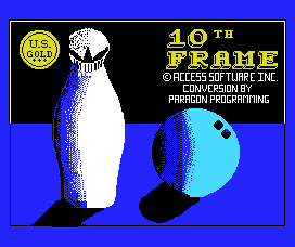 Play online - 10th Frame (MSX)