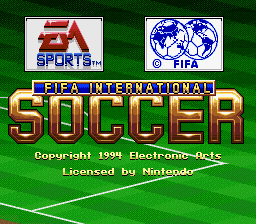 Play online, FIFA International Soccer (SNES)