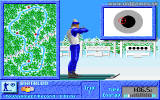 PC, Biathlon - Rifle shooting