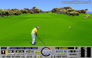 Links: The Challenge of Golf - PC, Grid on