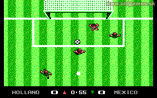 Microprose Pro Soccer - PC, Outdoor match
