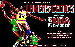 PC DOS, Title screen
