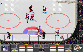 NHL Hockey 95 - PC DOS, Gameplay