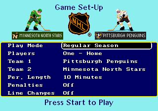 Genesis, Game Set-Up
