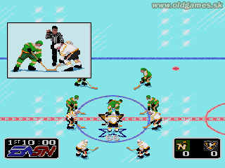 NHL Hockey - Genesis, Face-Off