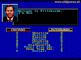 Genesis, Chicago vs Pittsburg