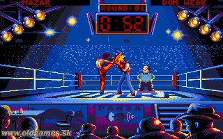 Panza Kick Boxing - PC DOS, Tournament