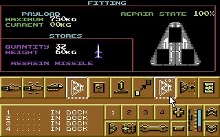 Commodore 64, Missiles