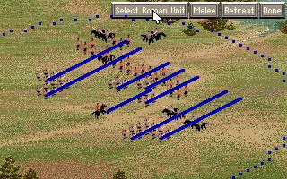 PC DOS, Roman unit paths