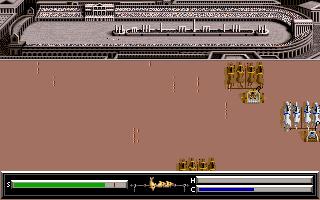 PC DOS, Chariot race - winning tactics