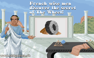 PC DOS, discovering The Wheel!
