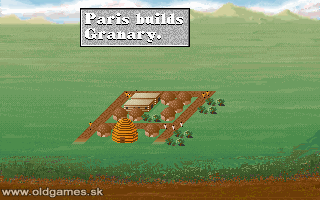 PC DOS, Paris builds Granary