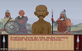 PC DOS, M.Gandhi of the Indians
