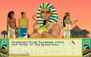 PC DOS, Ramesses, King of The Egyptians